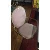 胜芳餐椅批发电镀金创意餐椅靠背椅美容美甲椅化妆椅梳妆椅餐厅休闲甲壳虫椅 添隆家具
