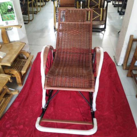 胜芳躺椅批发 休闲椅 折叠椅 铁制躺椅 午睡躺椅 藤编摇椅 躺椅 老人躺椅  休闲家具 户外家具 裕鑫家具