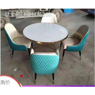 胜芳餐椅批发 电镀金创意餐椅靠背椅美容美甲椅化妆椅梳妆椅餐厅休闲椅 添隆家具