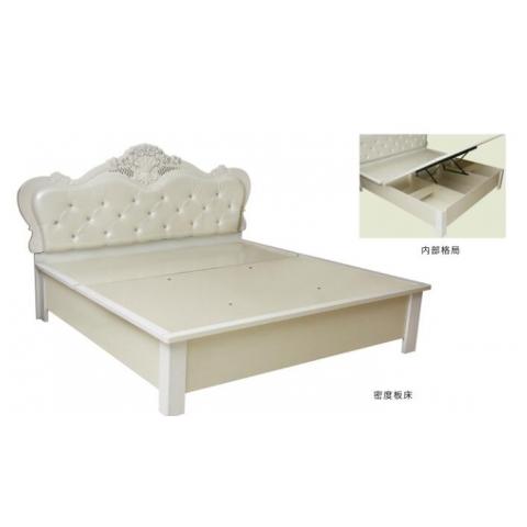 胜芳床铺批发 双人床 实木床 折叠双人床 木质双人床 板床 北欧家具 卧室家具 森佳家具