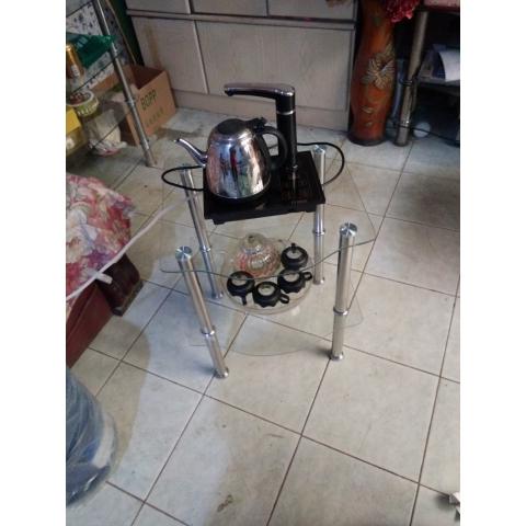 饮水机架花架多用架茶桌咖啡桌广华家具