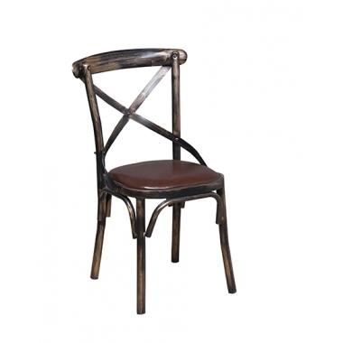 胜芳餐椅批发简约现代实木餐椅家用靠背休闲餐厅叉背椅酒店咖啡厅酒店椅创意家具快餐椅子实木餐椅A字椅仿古椅恒友家具