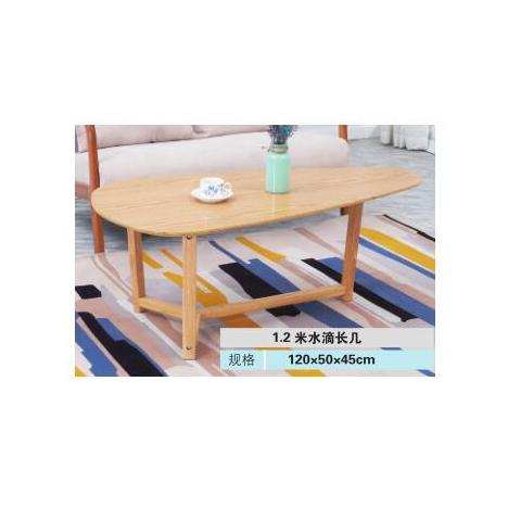 胜芳茶几批发 北欧 钢木 茶几创意 小户型简约 客厅组合边几 迷你 圆形 欧式简易茶几 格美诺家具