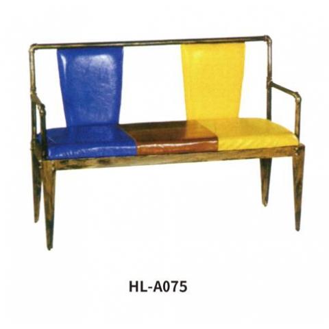 胜芳家具批发 卡座 咖啡椅 懒人椅 沙发椅 复古铁艺卡座 休闲 餐馆西餐厅咖啡厅桌椅组合 谈桌椅组合