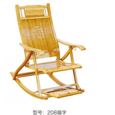 胜芳摇椅批发 休闲椅 木制摇椅 午睡摇椅 折叠椅 躺椅 竹摇椅 竹躺椅 户外家具 休闲家具裕鑫家具