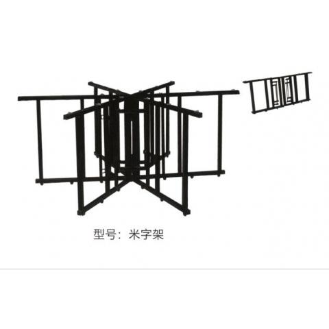 胜芳桌架批发 大圆桌架 弹簧架子 折叠桌架 多功能架子裕鑫家具