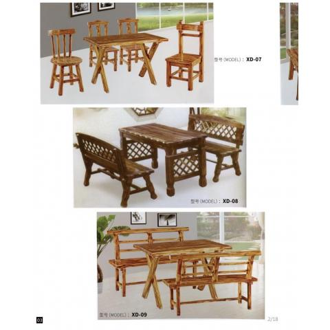 胜芳酒店桌椅批发 饭店实木桌椅 实木餐桌椅 酒席桌 转盘桌 实木酒店家具 信德家具