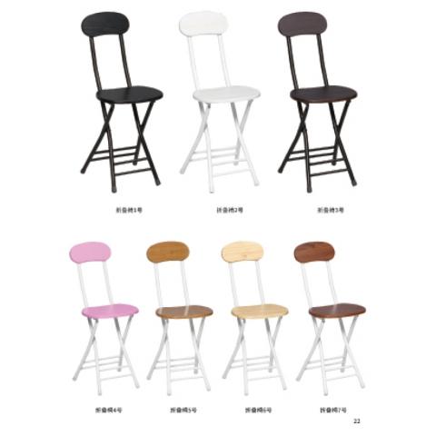胜芳 培训椅 塑料 可折叠椅子 职员办公接待椅 会场靠背椅子 会议折椅