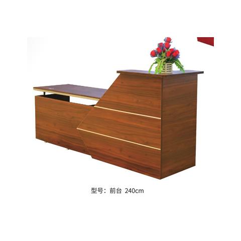 胜芳前台桌批发 公司前台 吧台 板式前台柜 储物柜 办公家具 板式家具