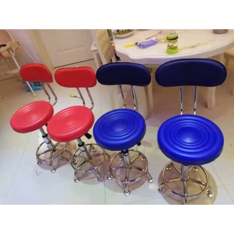 胜芳家具批发     实木高脚椅   可以360℃旋转    鸿瑞家具