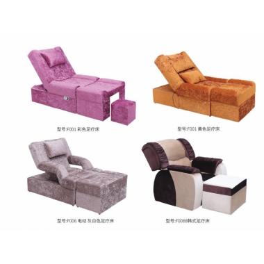 胜芳理容床批发  足疗沙发可躺沙发 洗脚足浴沙 发美甲椅 桑拿沙发宝山家具