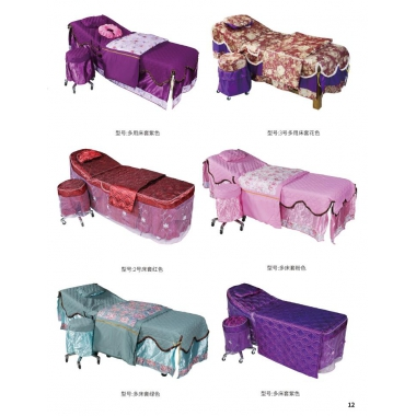 胜芳理容床批发 美容床 按摩床套 SPA床套 美体床套 商业家具批发 宝山家具