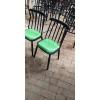 胜芳主题椅 酒店椅 围椅 休闲椅 七梁椅   复古餐椅