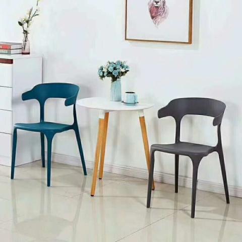 胜芳在线家具批发 北欧餐桌椅 组合三件套 现代简约 休闲洽谈桌 小圆桌 咖啡桌 玻璃小户型 畅健博家具