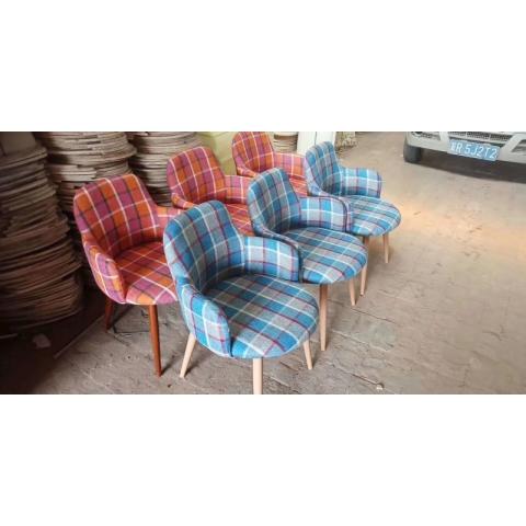 胜芳休闲椅批发 复古式餐椅 主题餐椅 布艺围椅 休闲家具 洽谈椅 休闲家具 会所家具 酒店家具 奥宁家具
