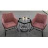 胜芳澳典家具休闲椅 主题桌椅 洽谈桌椅 咖啡桌椅 咖啡台围椅