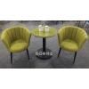 胜芳在线家具批发 北欧餐桌椅 组合三件套 现代简约 休闲洽谈桌 小圆桌 咖啡桌 玻璃小户型 澳典家具