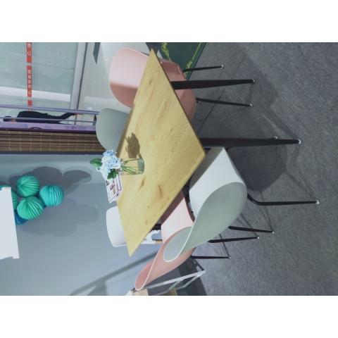 万博Manbetx官网钢木桌批发简约家用小户型吃饭桌子书桌电脑桌卧式床头小桌现代铁艺休闲桌学习桌写字桌儿童迪雅佳万博manbetx在线