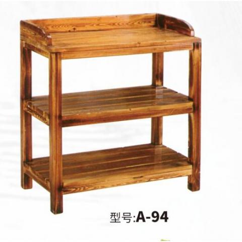胜芳实木架多层架 置物架 储物架 杂物架 整理架 收纳架 浴室架 卫生间家具 浴室家具 简易家具 和合家具