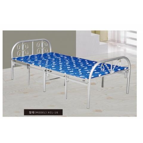 胜芳床铺批发 折叠床 单人床 铁艺折叠床 双人床 四折床 午休床 折叠椅 行军床 简易床 铁质板床 板床批发 新程岭家具