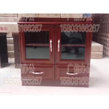 胜芳茶水柜批发 储物柜 实木茶水柜 实木办公储物柜 办公家具 广信办公家具