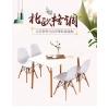 胜芳伊姆斯桌批发 伊姆斯桌 餐厅桌 快餐桌 北欧餐桌 实木桌 邦迈兴家具