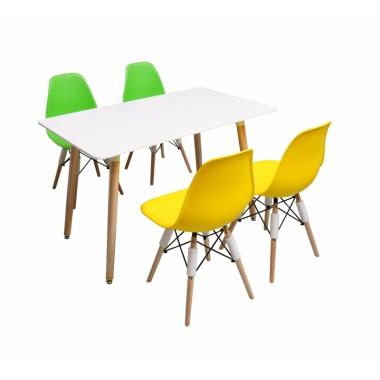胜芳伊姆斯批发 伊姆斯桌椅 伊姆斯桌子 休闲桌椅 餐桌椅 洽谈桌椅 接待桌椅军龙家具