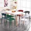 胜芳休闲椅批发 创意椅 咖啡椅  牛角椅 塑料椅 时尚椅 休闲椅 北欧餐椅 宿舍家具 卧室家具 邦迈兴家具