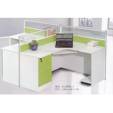 胜芳办公桌批发 办公电脑桌 职员桌 员工桌 写字台 带抽屉办公桌 办公家具  璐阳家具