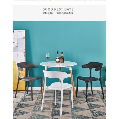 胜芳家具批发咖啡椅 伊姆斯 创意椅 餐椅 设计师椅 时尚简约 休闲椅 伊姆斯椅子 餐厅家具 书房家具 休闲家具 扣椅 畅健博家具