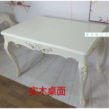 餐桌实木餐桌椅组合北欧日式小户型饭桌现代简约长方形餐桌子橡胶木餐厅家具