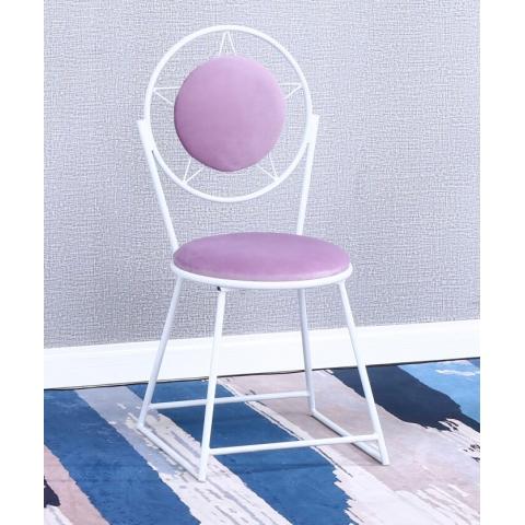 胜芳家具批发 网红椅 铁艺椅 咖啡椅奶茶椅主播椅可定制主题餐厅椅酒店椅软包椅 时尚椅子 建军家具