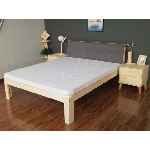 1.5*2*0.4胜芳床铺批发双人床 单人床 实木床 木质双人床 双人板床 木质床 卧室家具 胜芳家具 家具批发 康鑫家具