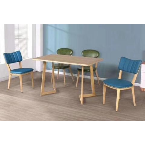胜芳餐桌椅批发 复古式餐桌椅 实木餐桌椅 主题餐桌椅 转印餐桌椅 钢木家具 快餐桌椅 休闲家具 绍明家具