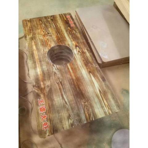 胜芳桌面批发 钢木桌面 快餐桌面 餐桌面 主题桌面 餐厅家具 饭店家具 简易家具 强丰家具