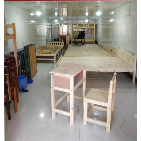 实木桌学生桌单人桌双人桌拆装万博manbetx在线