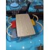 胜芳胜博发网站 咖啡台 咖啡桌椅组合 小圆桌 三件套会客桌椅 接待桌椅 洽谈桌椅 简约现代  安泰家具