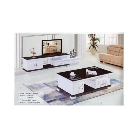 胜芳茶几电视柜批发 板式茶几电视柜 时尚茶几组合 欧式 简约 客厅家具 欧式家具 北欧 军龙家具