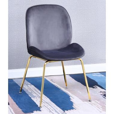 胜芳家具批发 网红椅 铁艺椅 甲壳虫椅 钛金椅 咖啡椅奶茶椅主播椅可定制主题餐厅椅酒店椅软包椅 时尚椅子 建军家具