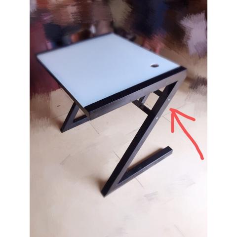 胜芳电脑桌批发 简约钢化玻璃电脑桌台式烤漆创意写字台儿童学习桌办公桌