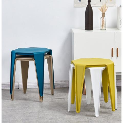 胜芳塑料凳子批发 加厚成人家用餐桌凳 高凳子 小板凳 方凳 圆凳 简易家具  宿舍家具 卧室家具 邦迈兴家具