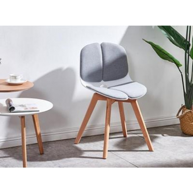 实木北欧椅子简约现代休闲椅家用靠背书桌椅创意餐厅餐椅标向家具