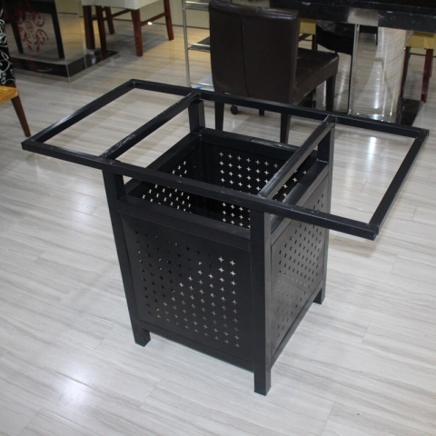 胜芳桌架批发 铁艺桌架 不锈钢桌架 餐厅桌架 餐台支架组装火锅桌架子 饭店家具