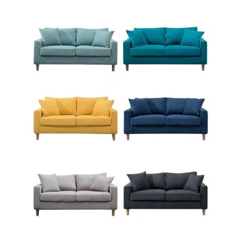 胜芳布艺沙发  大双人沙发 小户型客厅沙发   卧室家具 踏踏菜家具