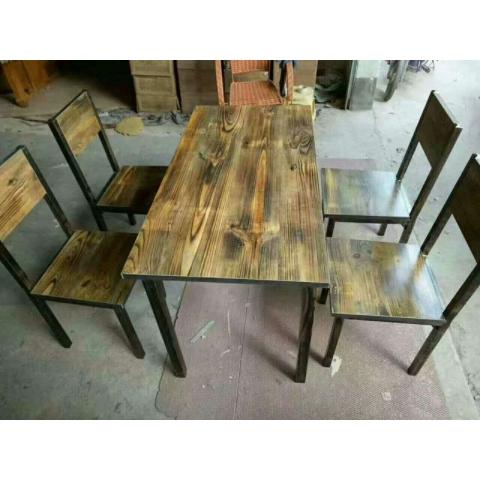 胜芳桌面批发 钢木桌面 快餐桌面 餐桌面 主题桌面 餐厅家具 饭店家具 简易家具  百富达家具