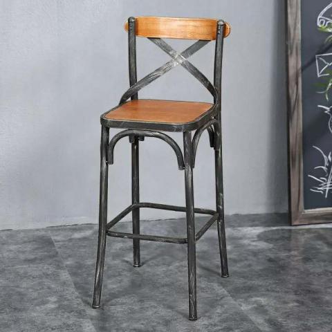 胜芳酒吧椅批发 酒吧台椅子 复古美式吧椅 高脚椅凳 KTV前台椅 高脚椅 吧台凳 理发椅 靠背酒吧椅 升降椅 瑞成家具