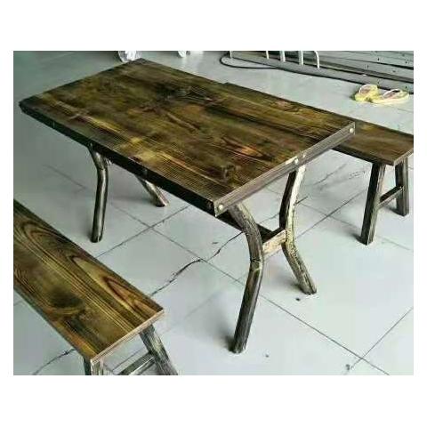 胜芳餐桌椅复古各种餐桌批发伟达家具