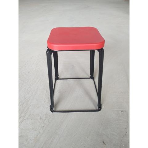 芳铁腿凳子批发 三腿凳子 铁质凳子 钢筋凳 套凳 圆凳 简易家具 寰宇家具