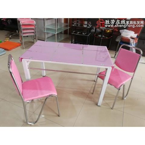 胜芳玻璃餐桌批发 玻璃餐桌 玻璃餐台 小户型餐桌 钢化玻璃餐桌 折叠餐桌 大圆桌 餐厅家具