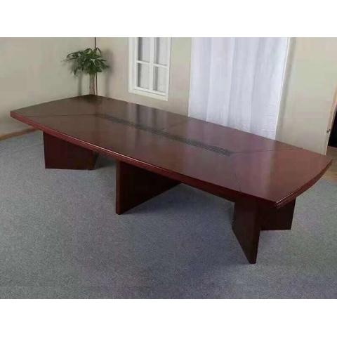 会议桌 实木贴皮会议桌
